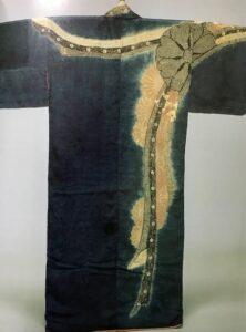 熨斗菊模様小袖